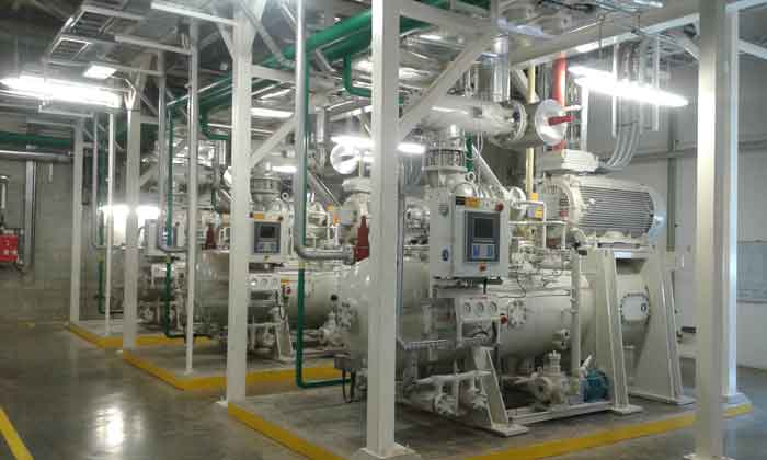 Industrial Ammonia Refrigeration Plants